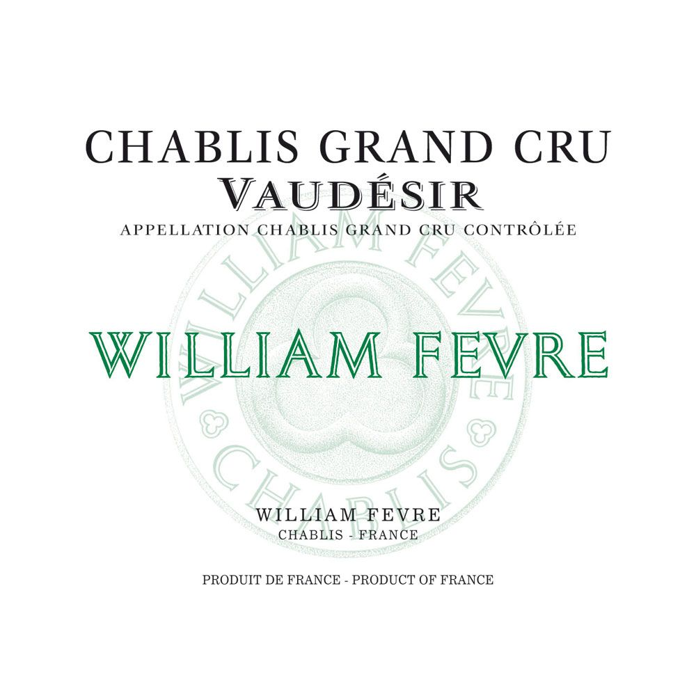 William Fevre Chablis Vaudesir Domaine Grand Cru 2013 Front Label