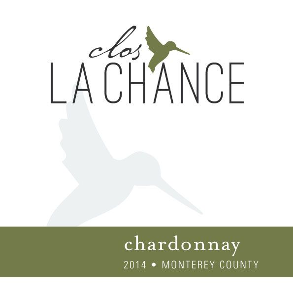Clos LaChance Monterey County Chardonnay 2014 Front Label