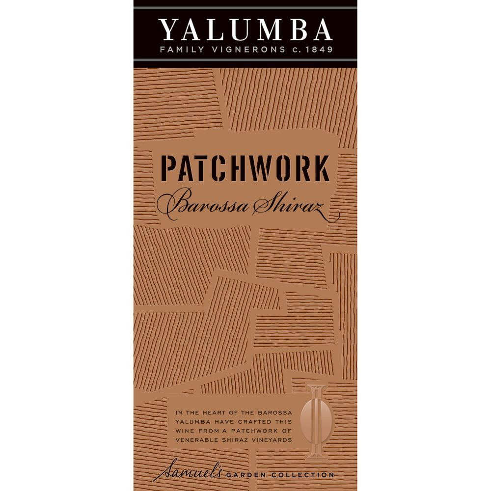 Yalumba Patchwork Shiraz 2013 Front Label
