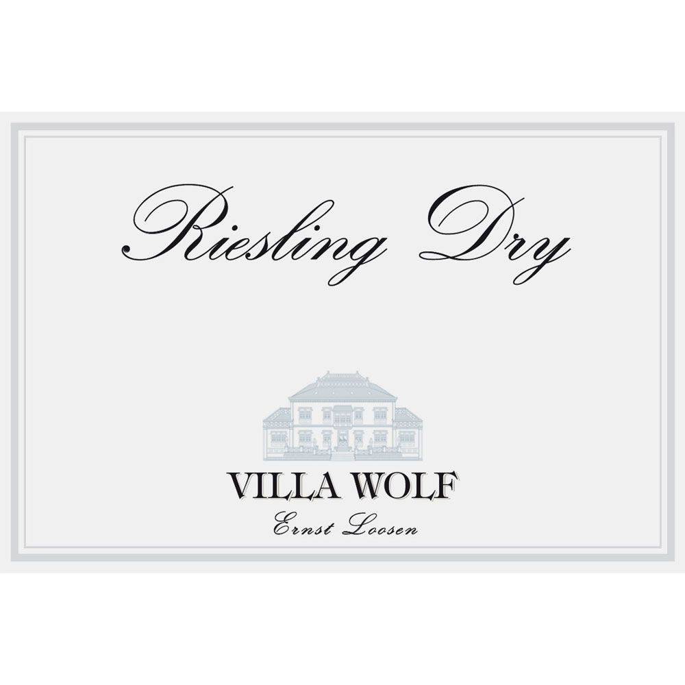 Villa Wolf Riesling Dry 2014 Front Label