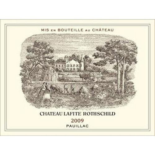 Chateau Lafite Rothschild (3 Liter Bottle) 2009 Front Label