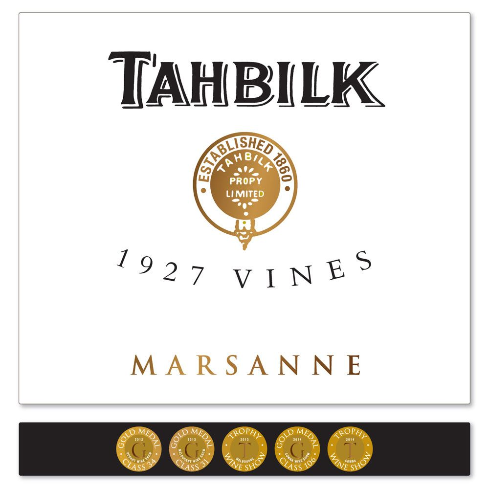Tahbilk 1927 Vines Marsanne 2007 Front Label