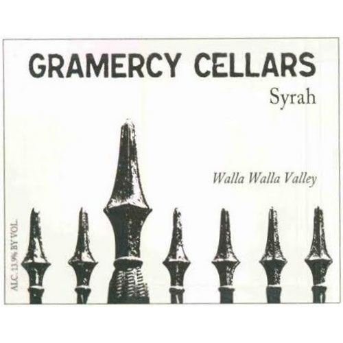 Gramercy Cellars The Deuce Syrah 2012 Front Label