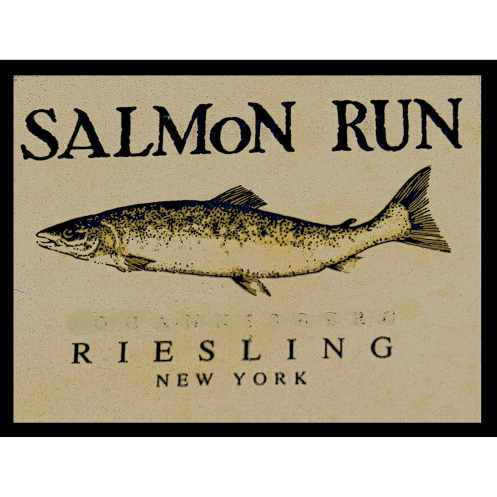 Dr. Konstantin Frank Salmon Run Riesling 2014 Front Label