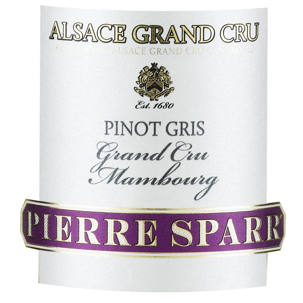 Pierre Sparr Mambourg Grand Cru Pinot Gris 2011 Front Label