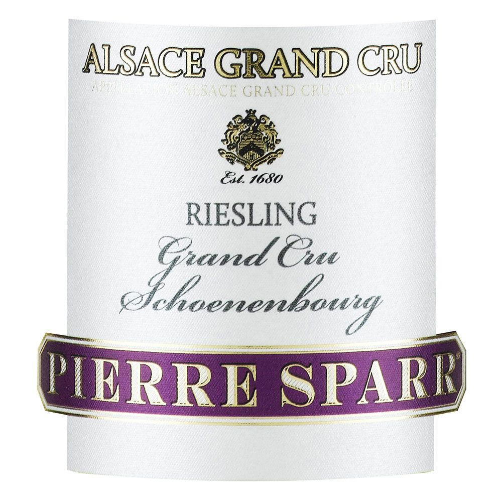 Pierre Sparr Schoenenbourg Grand Cru Riesling 2011 Front Label