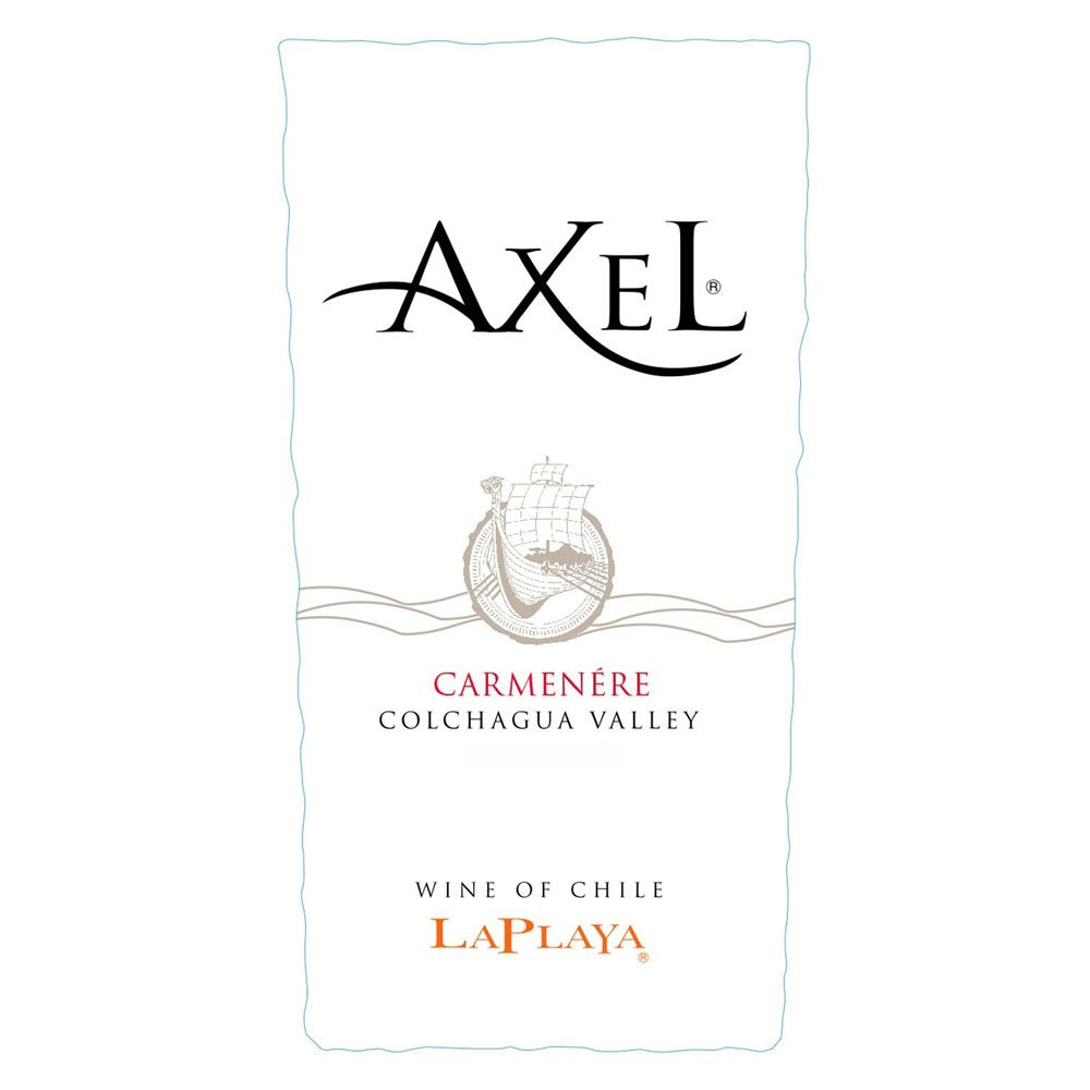 La Playa Axel Carmenere 2011 Front Label