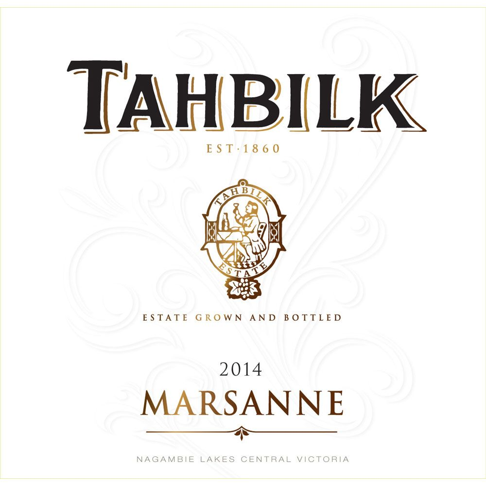 Tahbilk Marsanne 2014 Front Label