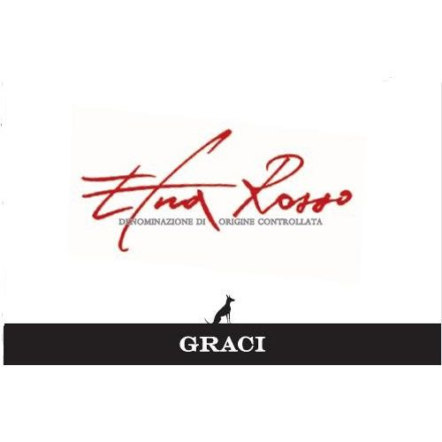 Graci Etna Rosso 2012 Front Label