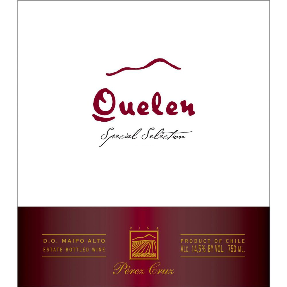 Perez Cruz Quelen 2010 Front Label