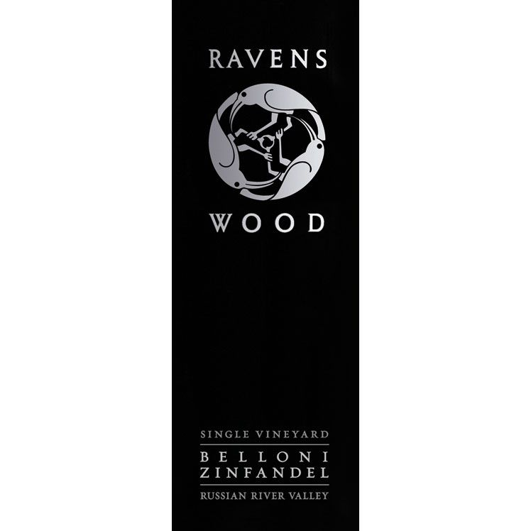 Ravenswood Belloni Ranch Zinfandel 2012 Front Label