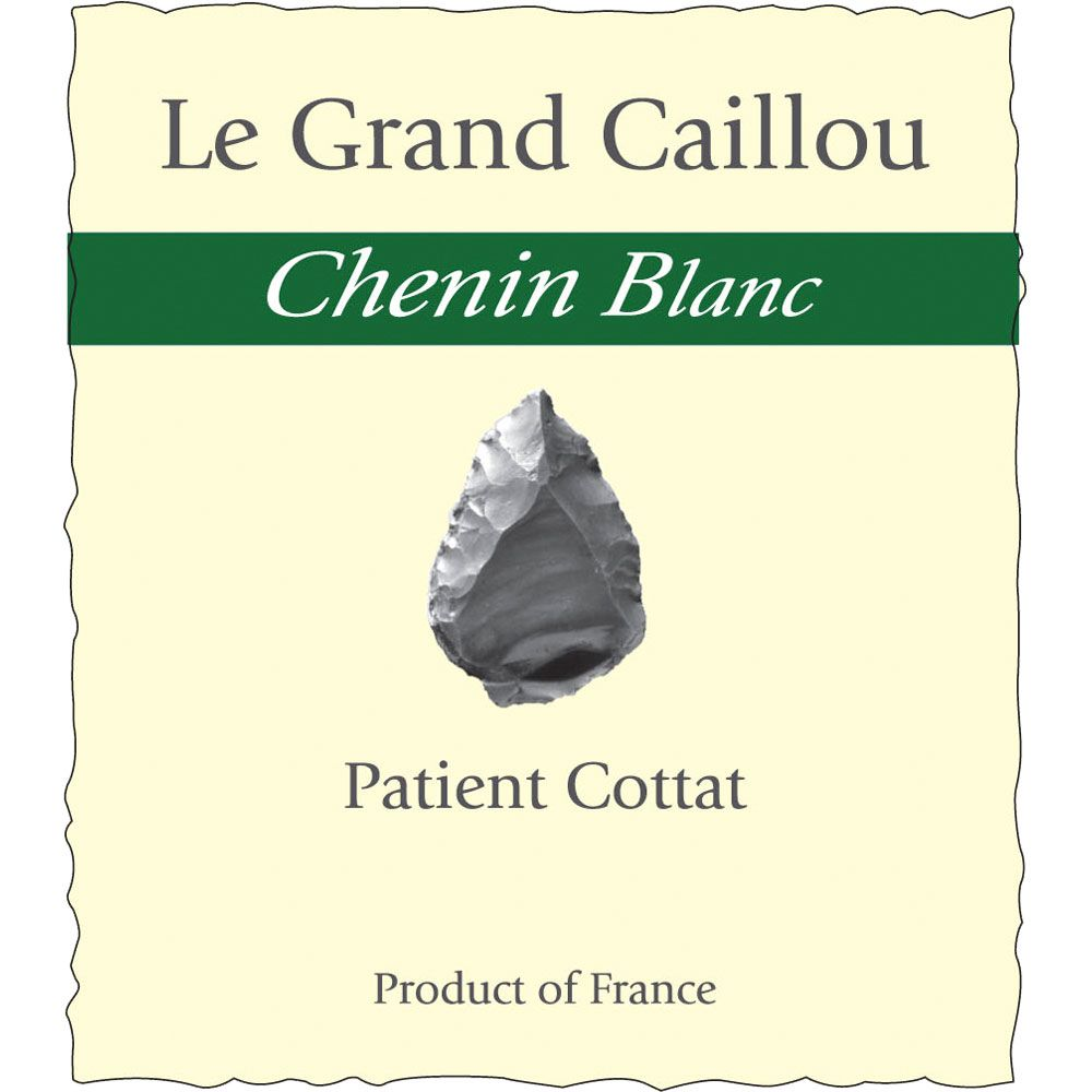 Patient Cottat Le Grand Caillou Chenin Blanc 2013 Front Label
