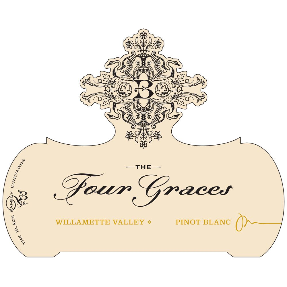 Four Graces Pinot Blanc 2014 Front Label