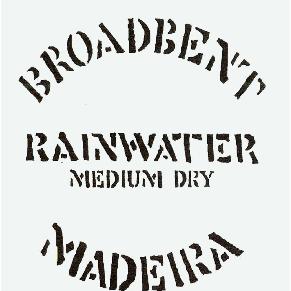 Broadbent Rainwater Madeira Front Label