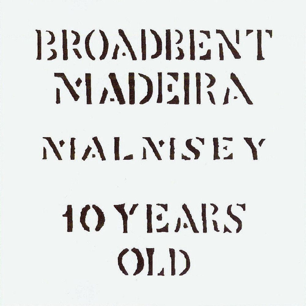 Broadbent 10 Year Malmsey Madeira Front Label