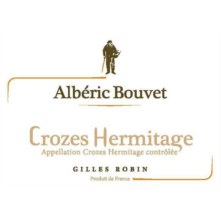 Gilles Robin Crozes-Hermitage Cuvee Alberic Bouvet 2012 Front Label
