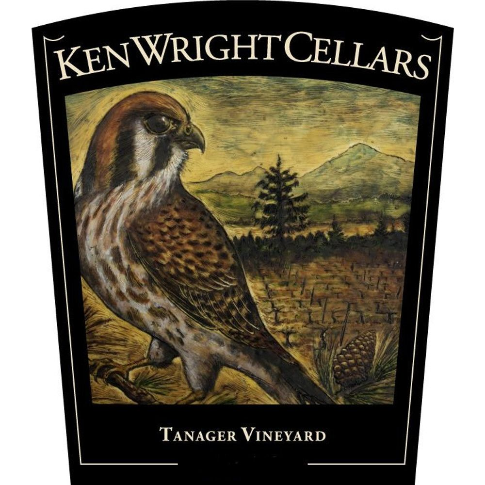 Ken Wright Cellars Tanager Pinot Noir 2013 Front Label