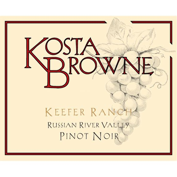 Kosta Browne Keefer Ranch Vineyard Pinot Noir 2013 Front Label