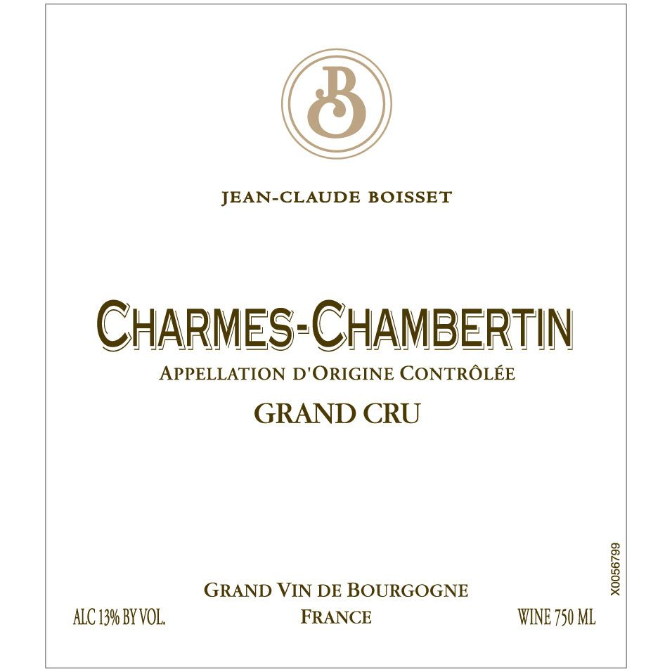 Jean-Claude Boisset Charmes-Chambertin Grand Cru 2008 Front Label