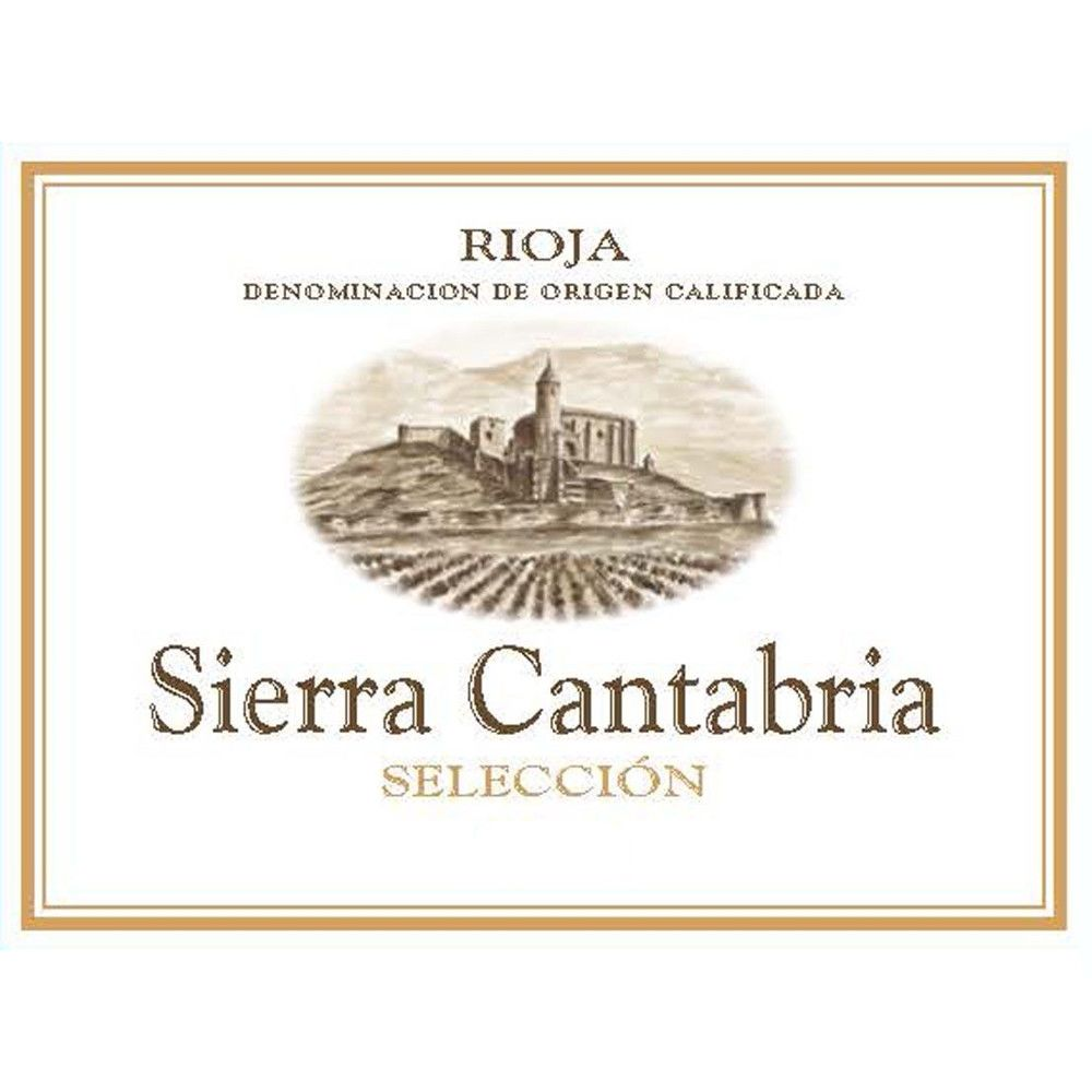 Sierra Cantabria Seleccion 2013 Front Label