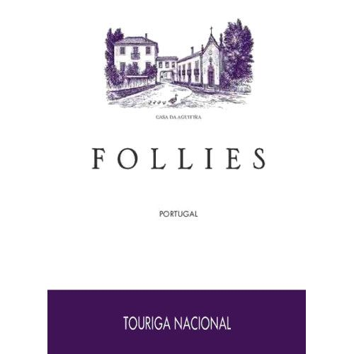 Aveleda Follies Touriga Nacional 2011 Front Label