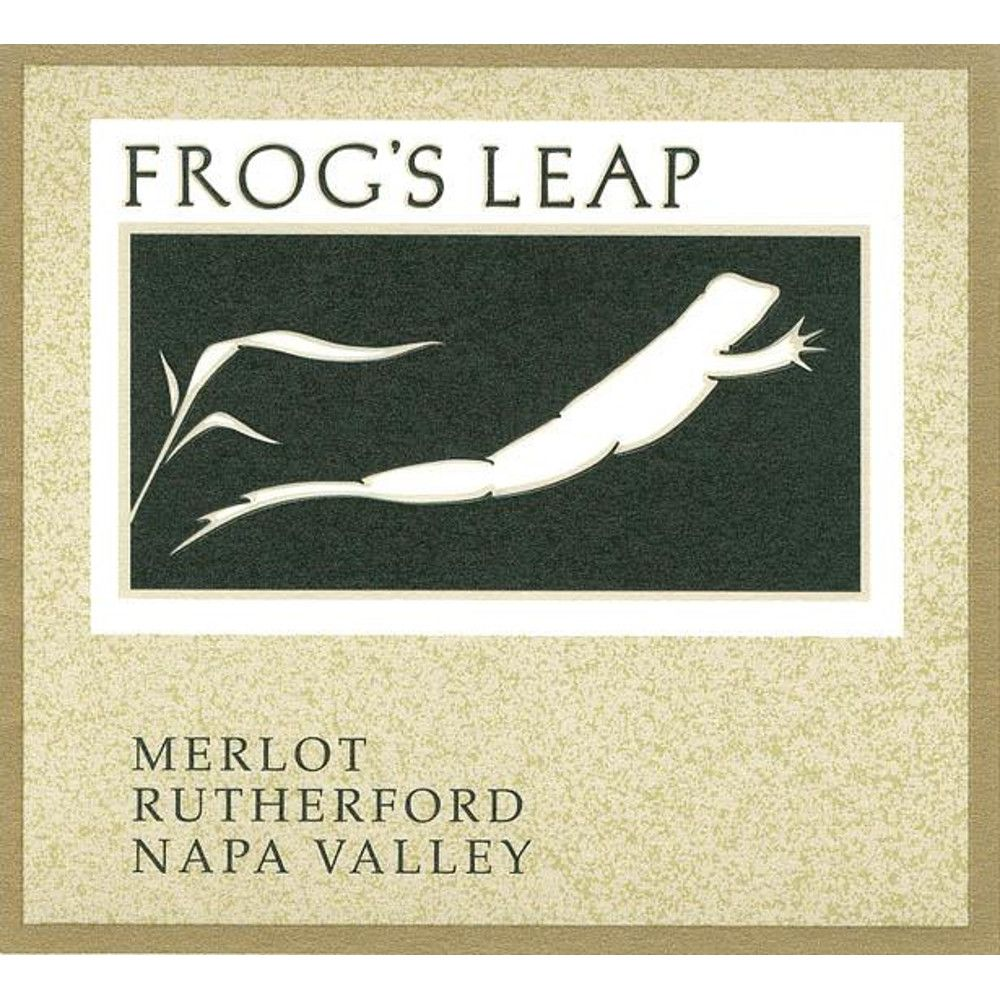 Frog's Leap Merlot (375ML half-bottle) 2012 Front Label