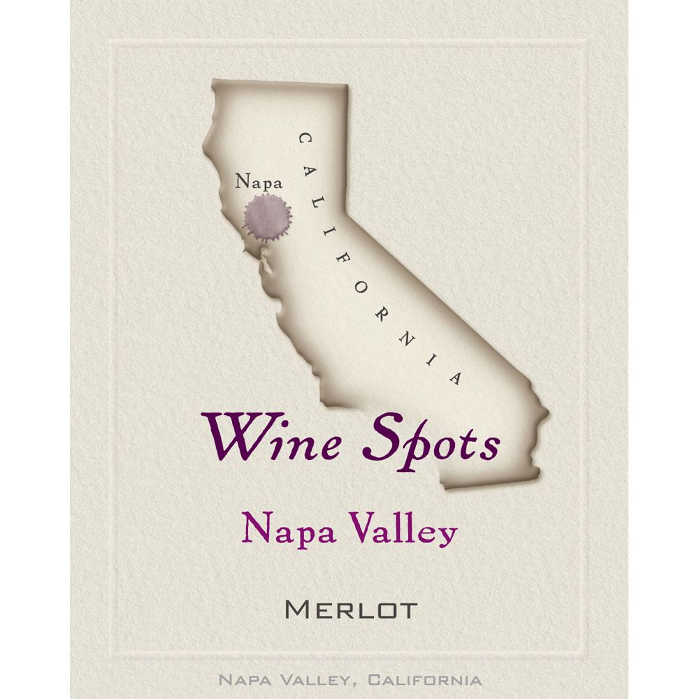 Wine Spots Napa Valley Merlot 2013 Front Label