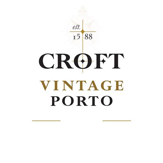 Croft Vintage Port (375ML half-bottle) 2009 Front Label
