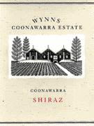 Wynns Coonawarra Estate Shiraz 1997 Front Label