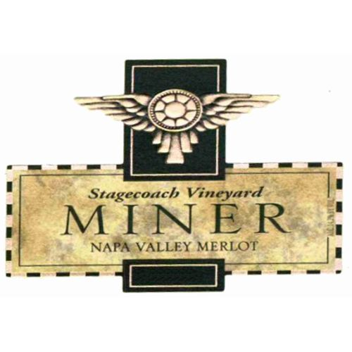 Miner Family Stagecoach Vineyard Merlot 2011 Front Label