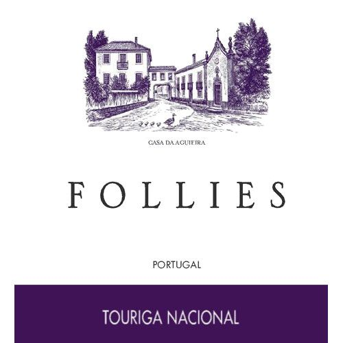 Aveleda Follies Touriga Nacional 2012 Front Label