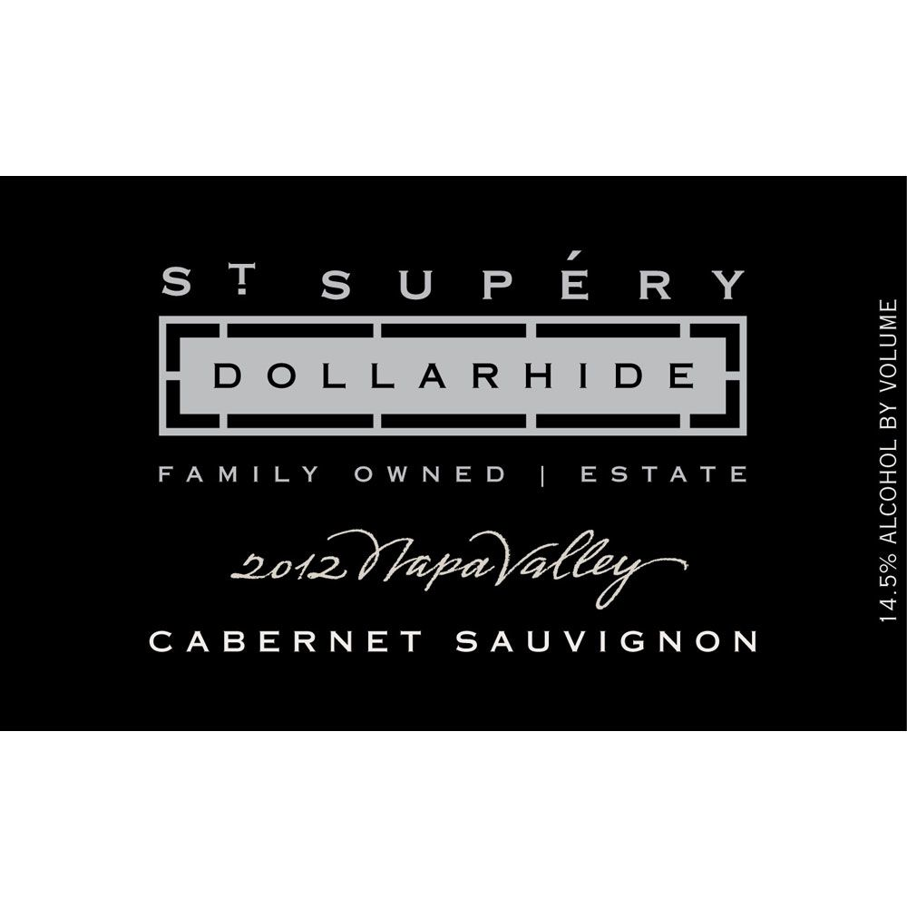 St. Supery Dollarhide Estate Cabernet Sauvignon 2012 Front Label