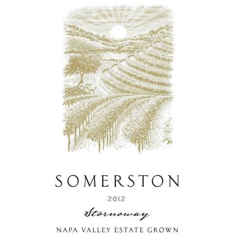 Somerston Stornoway Red Blend 2012 Front Label