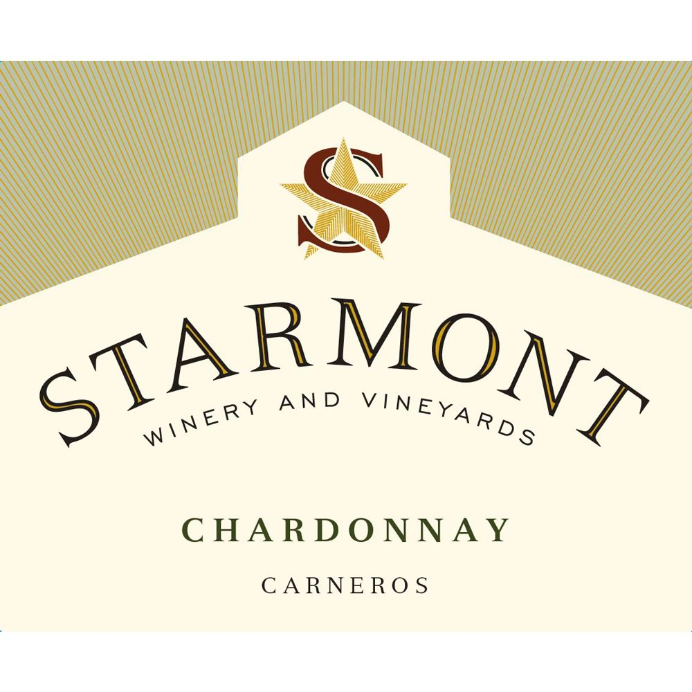 Starmont Chardonnay (375ML half-bottle) 2013 Front Label