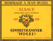 Hugel Hommage Gewurztraminer (half-bottle) 1997 Front Label