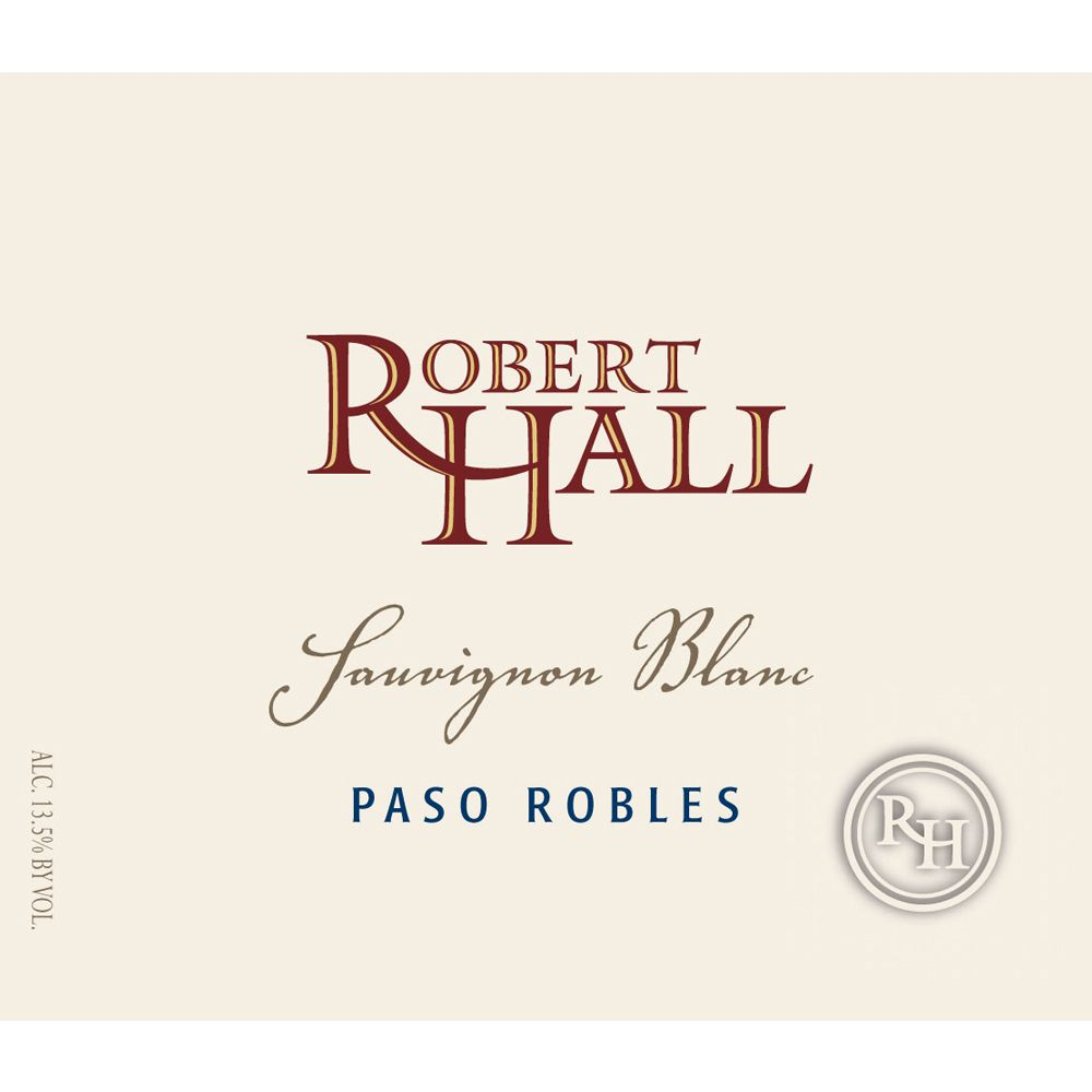 Robert Hall Sauvignon Blanc 2013 Front Label