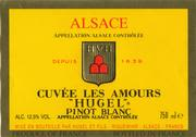 Hugel Pinot Blanc Amour (half-bottle) 1997 Front Label