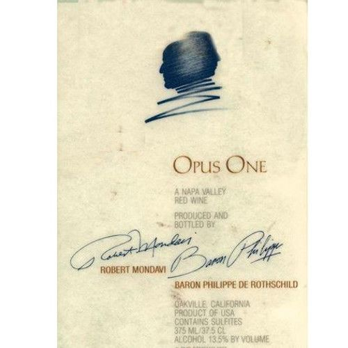 Opus One (375ML half-bottle) 2012 Front Label