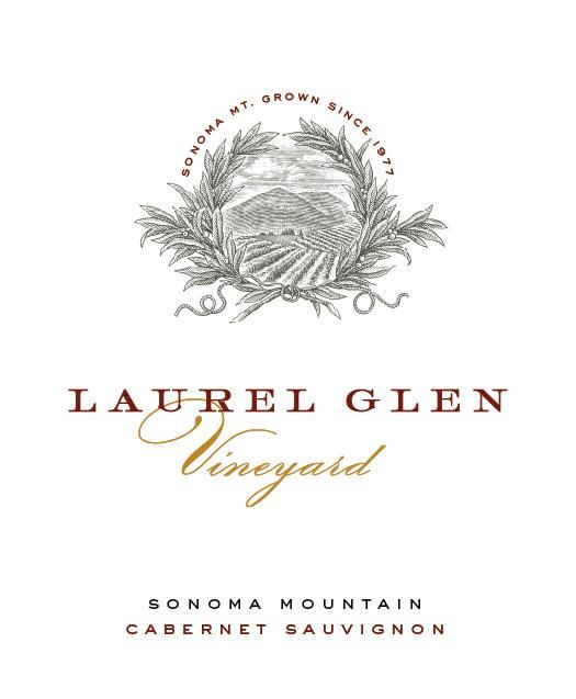 Laurel Glen Sonoma Mountain Estate Cabernet Sauvignon 2014 Front Label