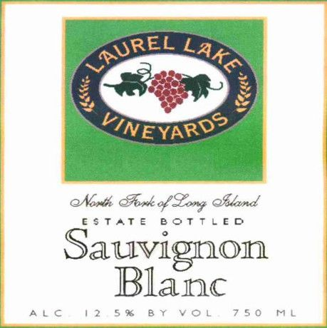 Laurel Lake  Sauvignon Blanc 2014 Front Label