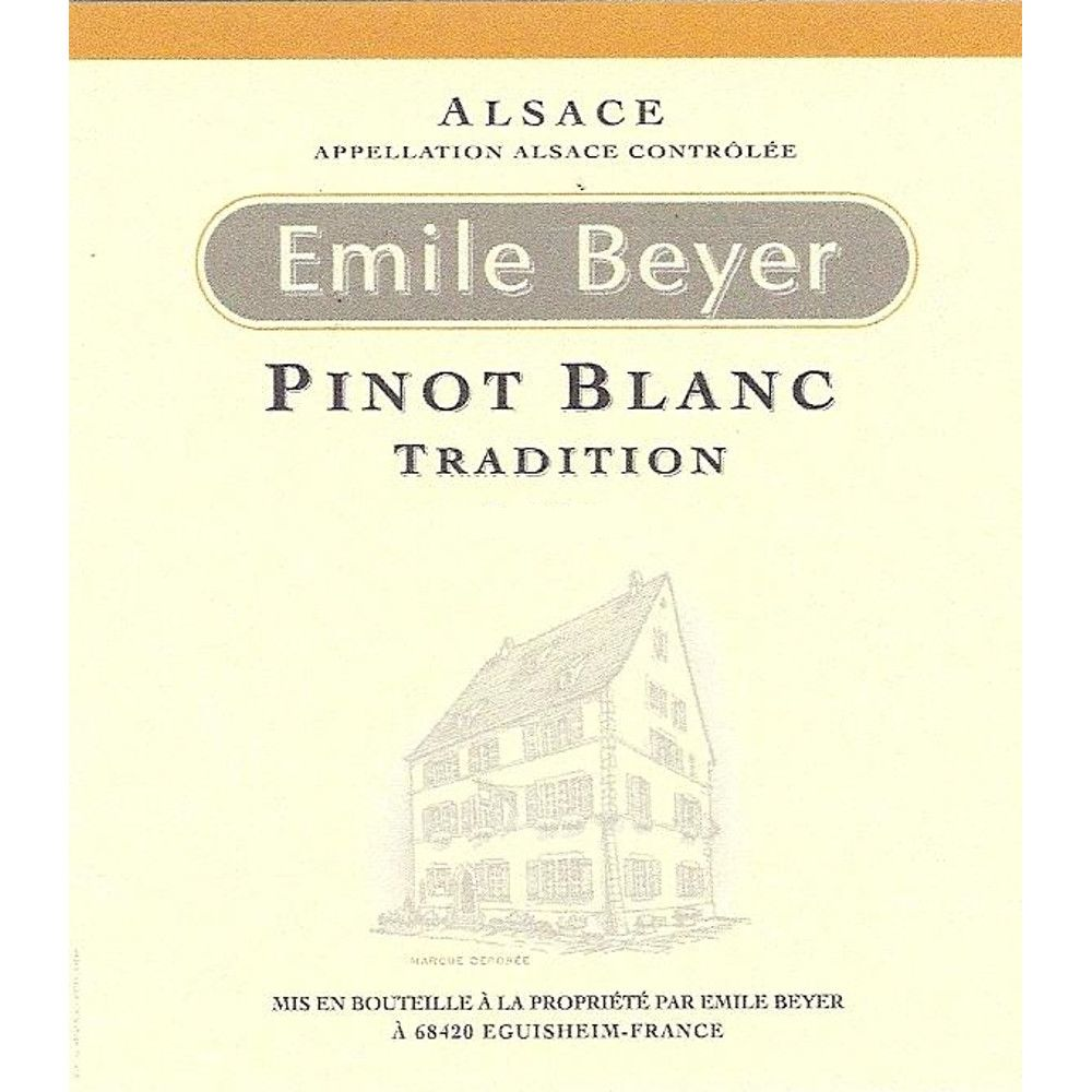 Domaine Emile Beyer Pinot Blanc Tradition 2013 Front Label