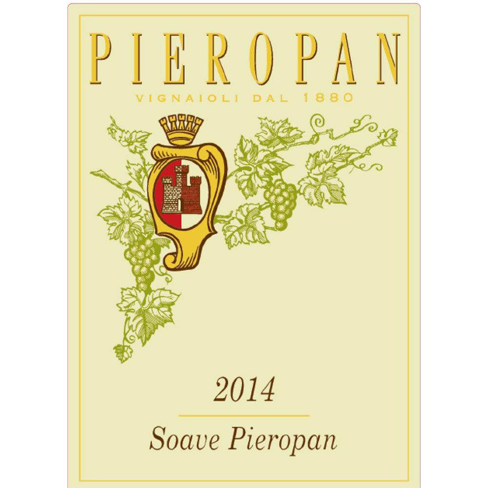 Pieropan Soave 2014 Front Label