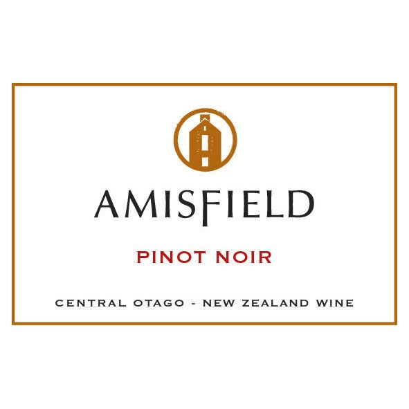 Amisfield Pinot Noir 2012 Front Label