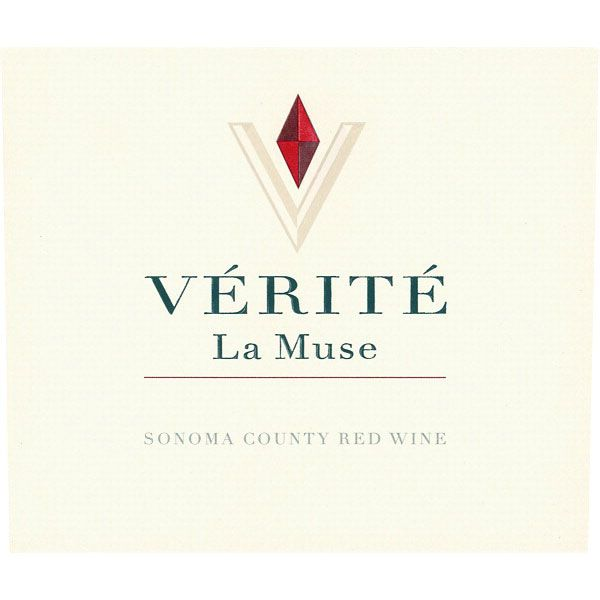 Verite La Muse 2012 Front Label