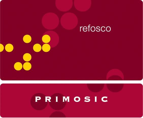 Primosic Refosco 2012 Front Label