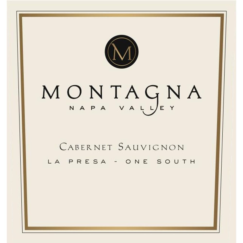 Montagna La Presa One South Cabernet Sauvignon 2012 Front Label