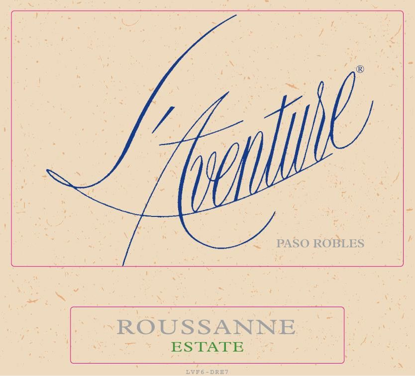 L'Aventure Estate Roussane 2010 Front Label