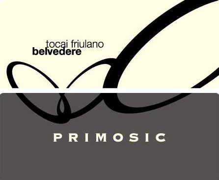 Primosic Collio Belvedere Friulano 2008 Front Label