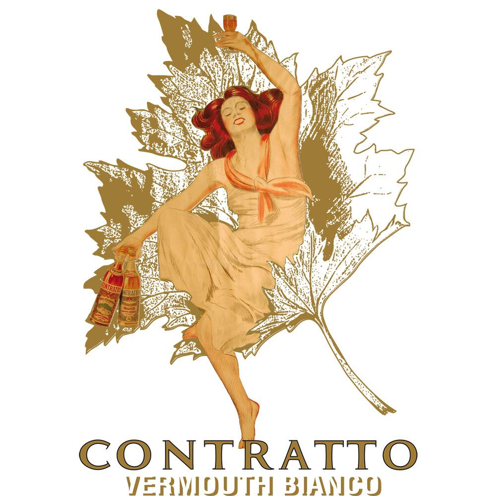 Contratto Vermouth Bianco Front Label