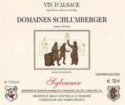 Domaines Schlumberger Sylvaner 1997 Front Label